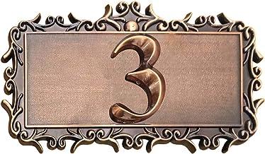 Huisnummer bord retro huisdeurbordje deurbordjes sticker deurnummer huisnummerplaat naar wens huisbord muurborden weerbest...