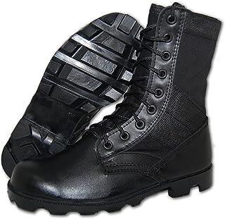 KRAZY SHOE ARTISTS Shoe Artists Combat Jungle Boot Men in Black