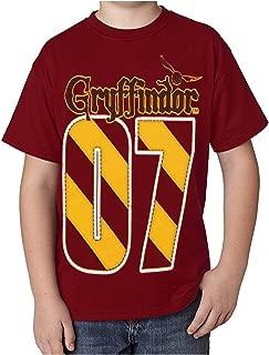 Youth Unisex T-Shirt Gryffindor Quidditch MVP, Red