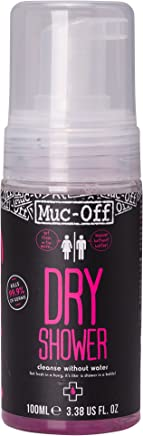 Mountain Warehouse Muc-off Dry Shower - 100ml, Alcohol free Body Wash, Antibacterial Waterless Bath, pH Balanced Skin Cleansing Foam -Ideal for Camping, Hiking, Outdoors