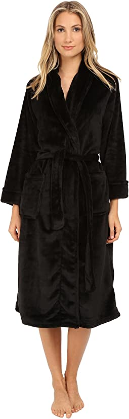 N by Natori - Cashmere-Feel Fleece Robe