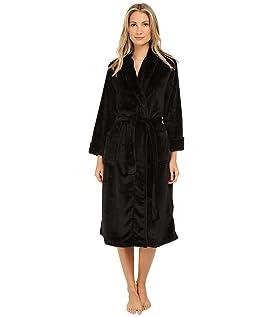 Cashmere-Feel Fleece Robe