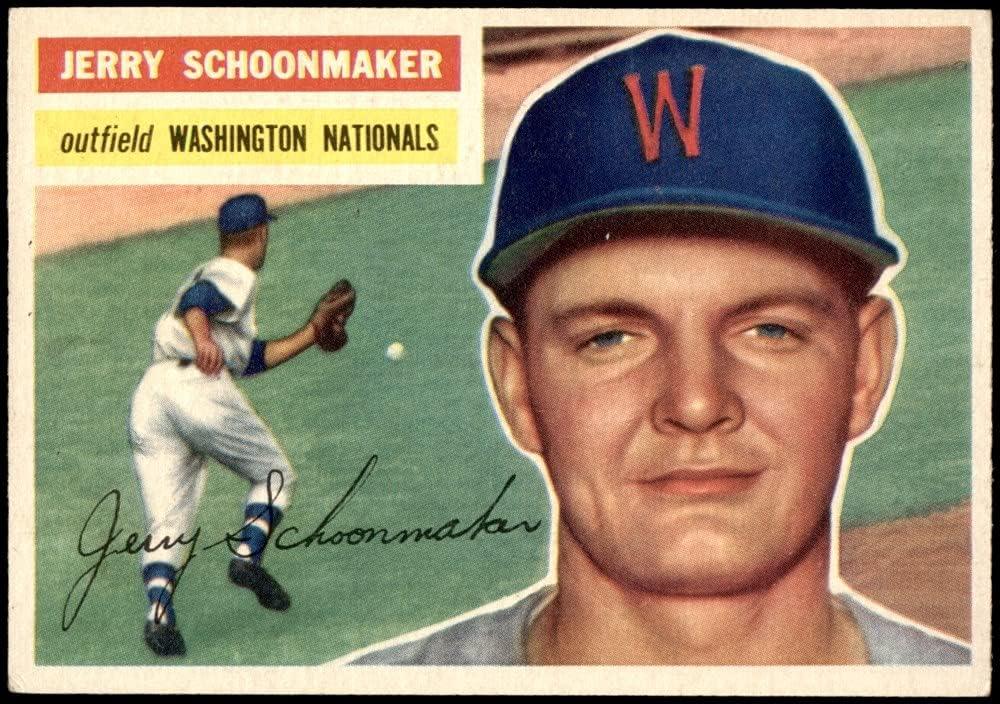 1956 Topps Daily bargain sale # Ranking TOP4 216 Jerry Schoonmaker Senators Washington Baseball