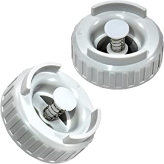 HQRP 2-Pack Bottle Valve Cap Compatible with Essick Air MoistAir EA1407, HD1407, HD1409, EA14070, HD14070Humidifiers ESK509229-1 Coaster