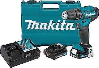 """Makita FD09R1 12V max CXT Lithium-Ion Cordless 3/8"""" Driver-Drill Kit (2.0Ah)"""