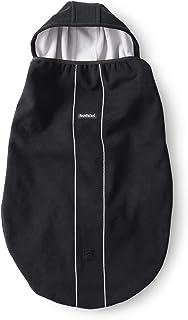 ベビービョルン 【日本正規品保証付】 ベビーキャリアカバー ブラック(スナップボタン付き) 0か月~