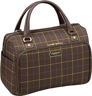 "London Fog Brentwood 17"" Cabin Bag, Chocolate Window Pane"