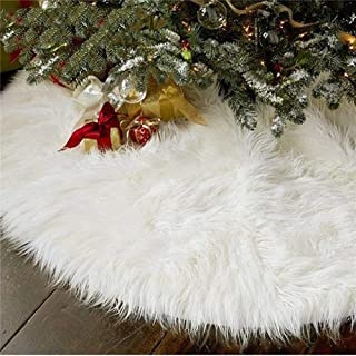 Best black fur tree skirt Reviews