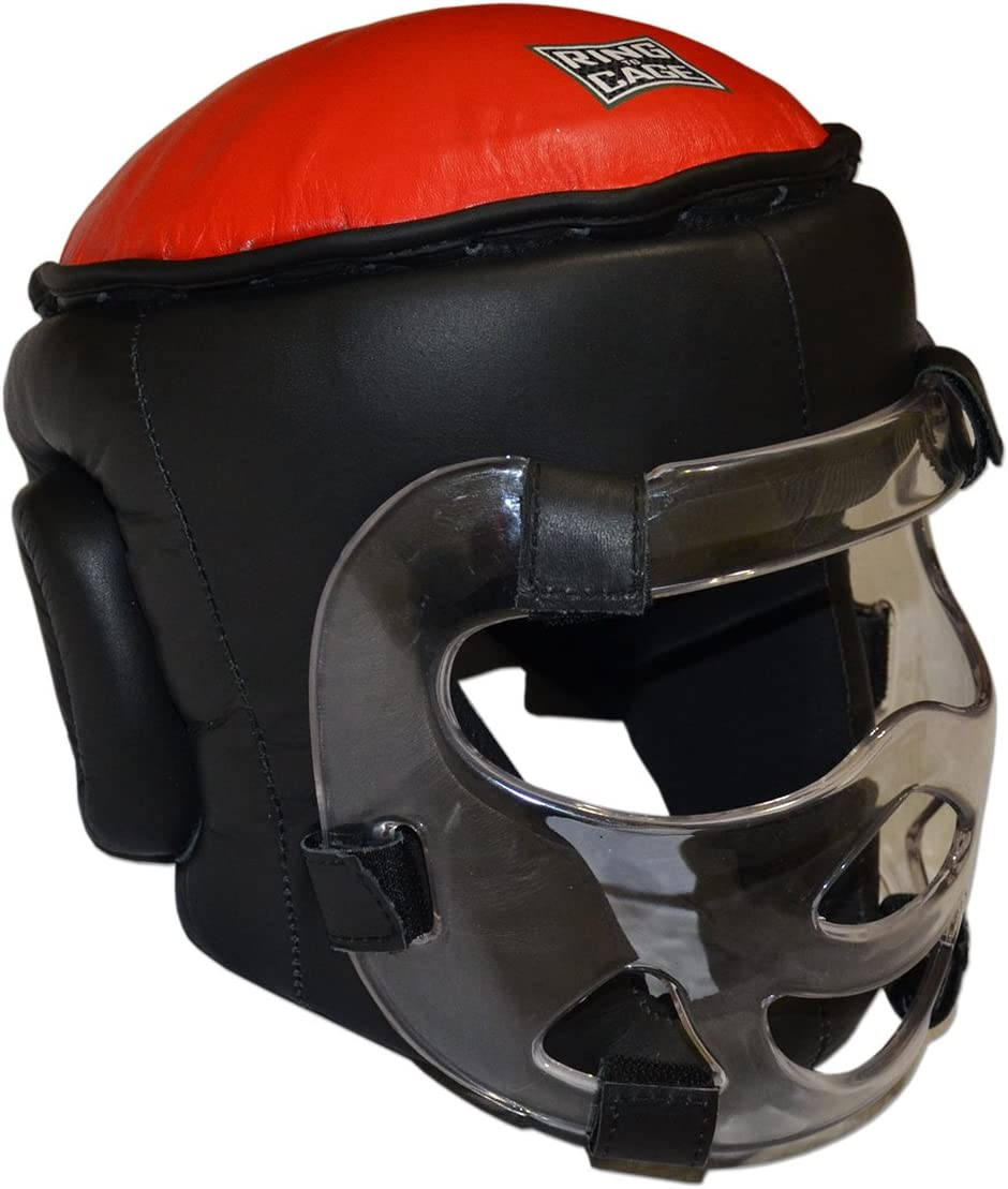 Youth Safety-Shield Training Headgear Ranking TOP19 Quantity limited Plexiglass Removable with