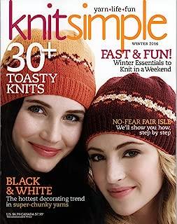knit simple winter 2016