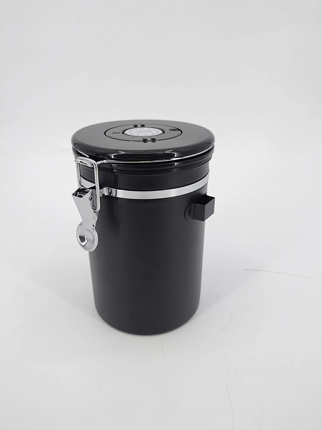 FixtureDisplays Airtight Sealed Coffee Bean Storage Canister wit