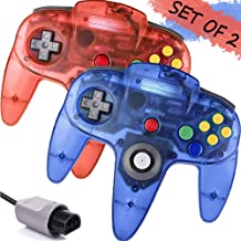 $26 » GALGO Wired N64 Controller, Upgrade Joystick Gamepad Controller for Original Nintendo 64 Console (Red and Blue)