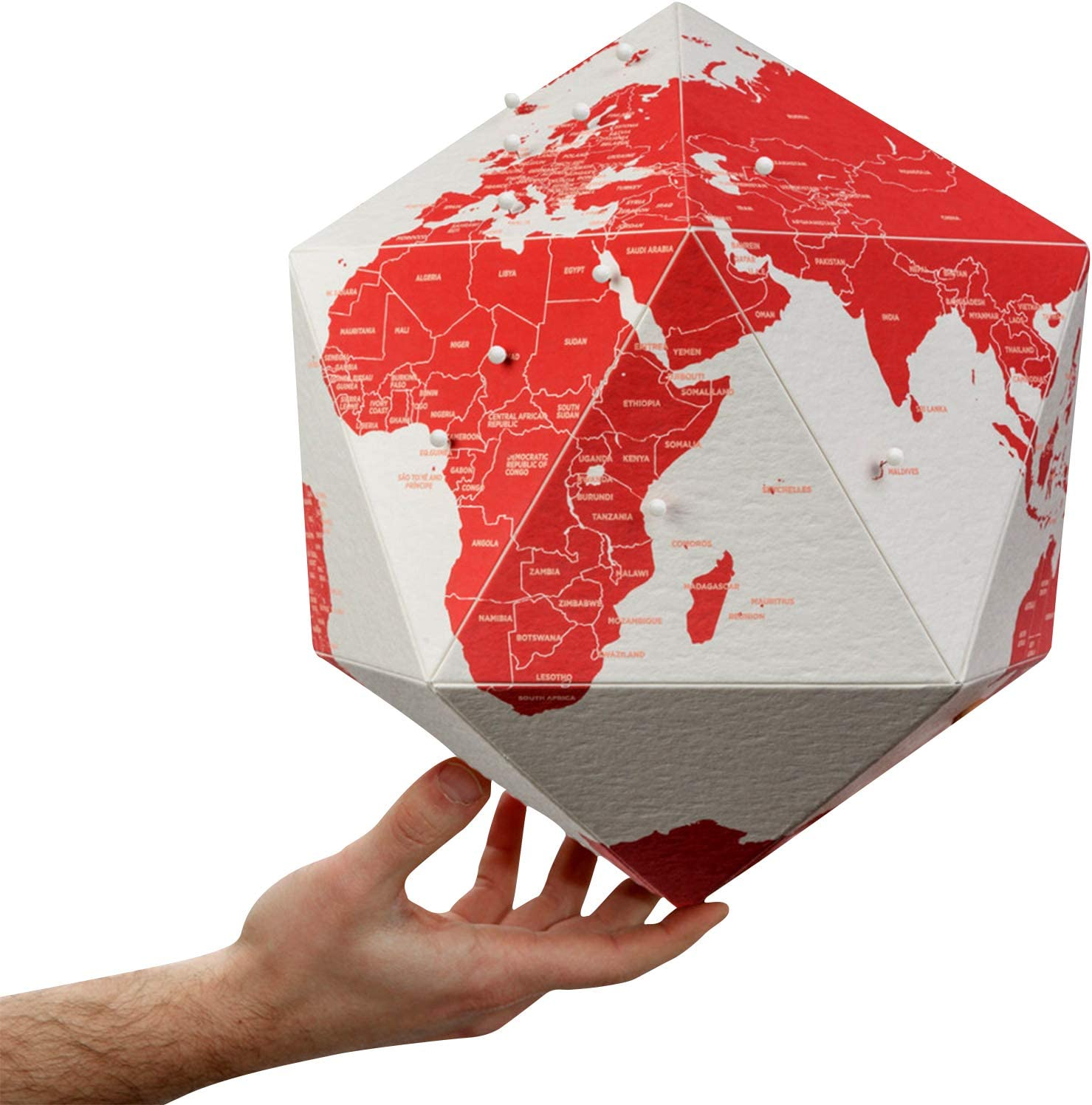 HERE Personal World Surprise price Globe w Pins Capsule Collection 3D All items free shipping Map fo