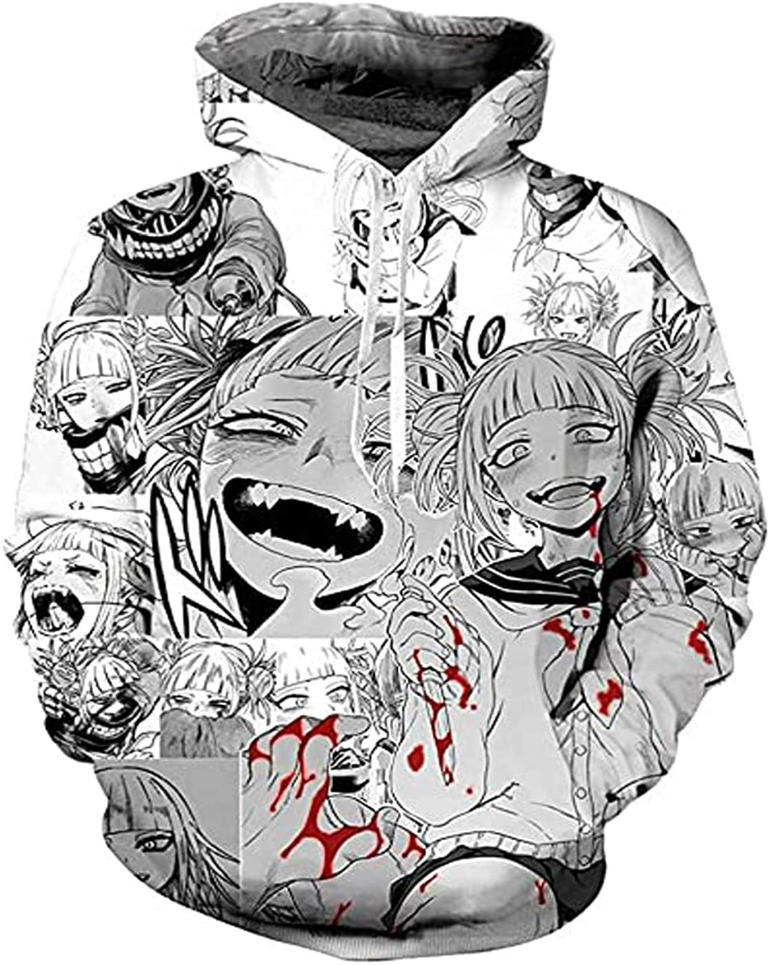 3D Printed Pullover Inexpensive Pockets Anime Sweatshirts Hoodie Max 78% OFF Toga Himiko