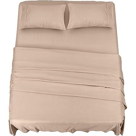 "Details about  /Gold Cotton Bed Sheet Comfort Stripes Printed Home Dressing Bedding Set 60x90/"""