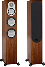 Monitor Audio Silver 300 Floorstanding Speaker Walnut Pair