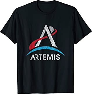 NASA Artemis Logo LT We Are Going Moon To Mars 2024 Vintage T-Shirt