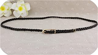 Women'S Ultra-Thin Belt Latest Spring And Summer Korean Version Of The Hand-Woven Belt Decorative Wild Belt