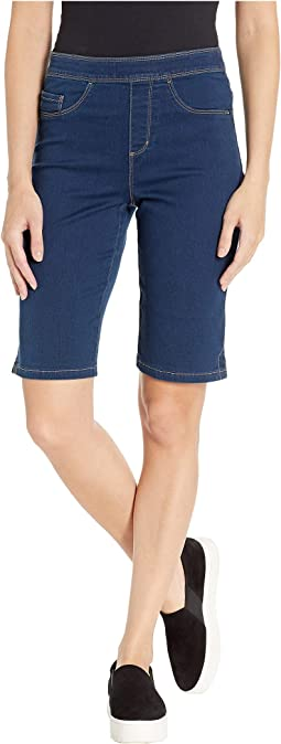 D-Lux Denim Pull-On Bermuda in Indigo