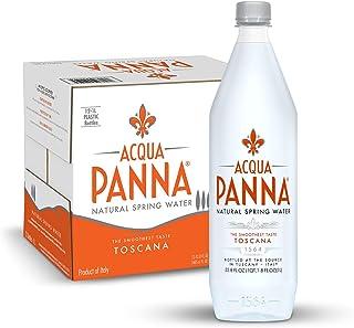 Acqua Panna Natural Spring Water, 33.8 Oz Plastic Bottles