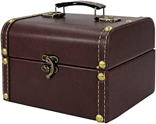 DreamsEden Small Storage Box, Decorative Treasure Chest Jewelry Keepsake Box for Kids Girls Boys Gifts Home Decorations, W...