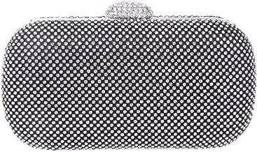 Fawziya Baguette Purse Bling Velvet Clutch Evening Bags
