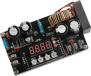 DC Voltage Regulator, DROK 6V-65V Step Down to 0-60V 24V 12V Buck Converter, 8A 400W LED Adjustable Power Supply Module CC...
