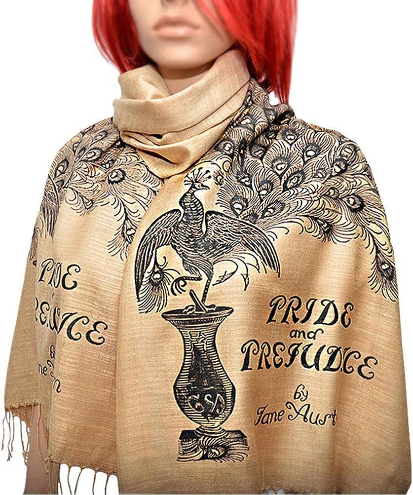 Pride and Prejudice Regular store scarf shawl Literary sale Book Scarf