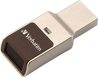 Verbatim Fingerprint Secure unità flash USB 64 GB USB tipo A 3.0 (3.1 Gen 1) Argento