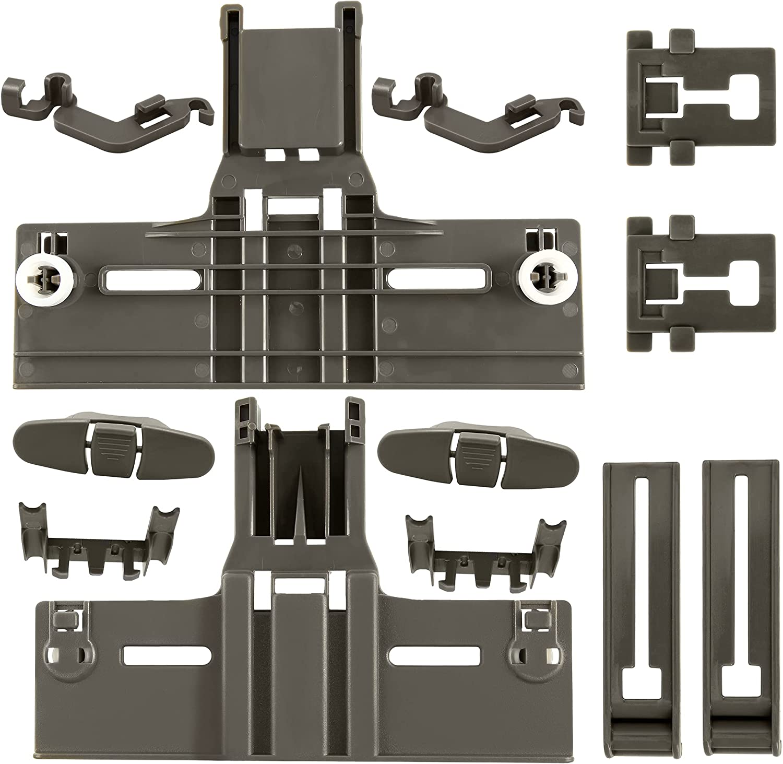 UPGRADED 【12 PCS Indefinitely 】Dishwasher Luxury Upper Parts W1035037 Rack