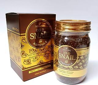 [3W CLINIC] ゴールドタニシアンプル250ml / Gold Snail Ampoules 250ml / リンクルレメディ+ホワイトニング/Wrinkle Remedy + Whitening/韓国化粧品/Korean cosmet...