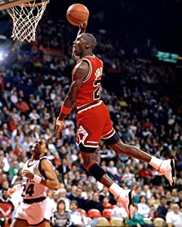 Kopoo Michael Poster Famous Foul Line Dunk Sports Poster, 24