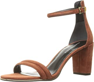 Kenneth Cole New York Wohombres Lex Heeled Sandal, Rust, 7.5 M US