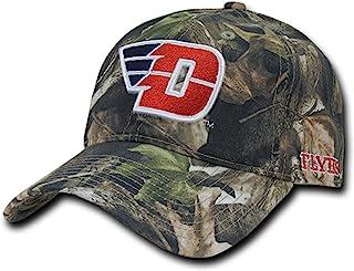 Navy Blue Dayton University UD Flyers NCAA Flat Bill Snapback Baseball Hat Cap