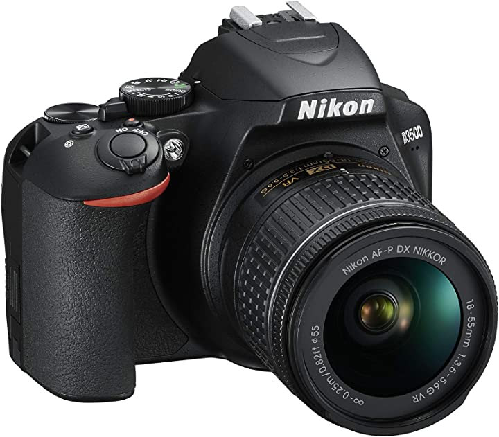 Fotocamera digitale nikon d35 reflex digitale con obiettivo nikkor af-p 18-55 f/3.5-5.6g vr dx 24.2 megapixel VBA550K001