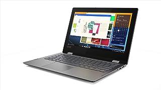 Lenovo Flex 11 二合一可转换笔记本电脑,11.6 英寸高清 (1366 x 768) 触摸屏显示屏,英特尔奔腾 银色 N5000 处理器,4GB DDR4,64 GB eMMC,Windows 10 in S 模式,81A70006US,矿物灰