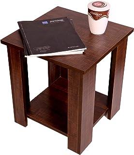 PARADOX STUDIO Coffee Table | Tea Table | Centre Table for Living Room Furniture Engineered Wood Grain Finish (Dark Crossl...