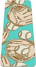 Honkbal en handschoenen antislip yogamat - milieuvriendelijke TPE dikke fitnessoefenmatten ideaal voor pilates, yoga en ve...