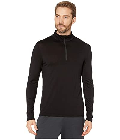 Helly Hansen Merino Mid 1/2 Zip (Black 1) Men