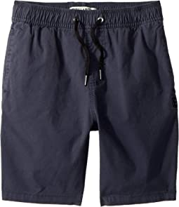 Larry Stretch Elastic Boardshorts (Toddler/Little Kids)