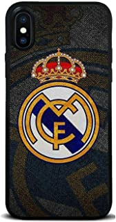 Real Madrid Phone case for iPhone 11 pro max Spain Football Club Phone Case Silicone Cover for iPhone X XR XS max 7 8 Plus (3, for iPhone 11 pro max)