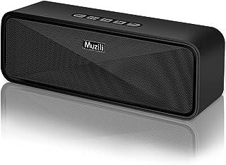 comprar comparacion Altavoz Bluetooth Portátil, Altavoces Bluetooth Inalámbrico Estéreo Sonido de Bajo Bluetooth 5.0 Manos Libres/Modo AUX/Tar...