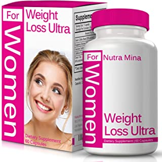 Weight Loss Ultra for Women, with Green Coffee Bean Extract, Raspberry Ketones, Garcinia Cambogia and Green Tea Extract, N...