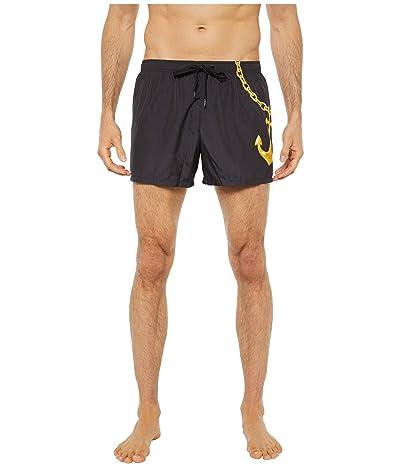 Moschino Anchor Swim Shorts (Black) Men