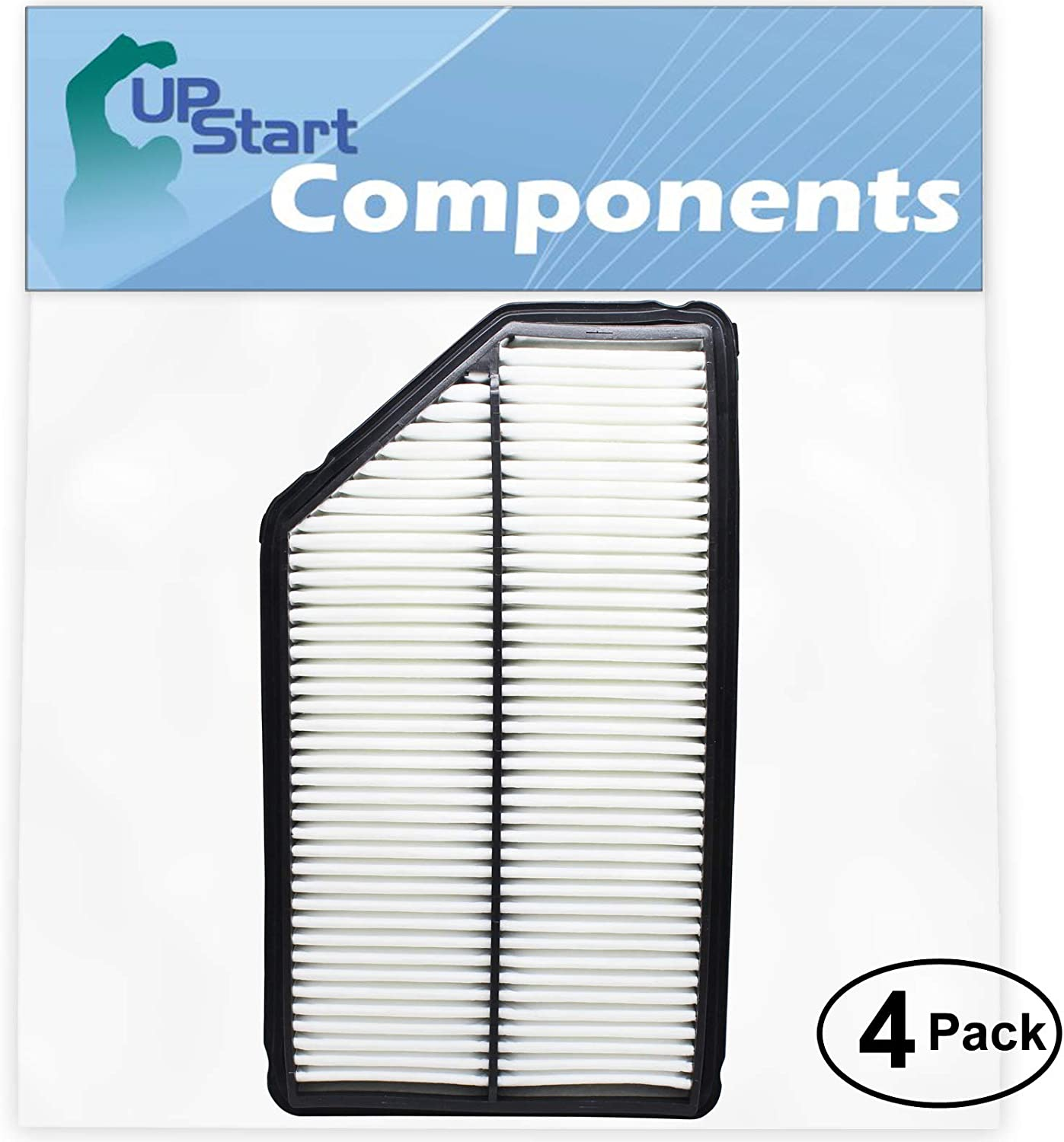4-Pack Replacement Engine Air Filter Long Beach Mall for Honda Pilot 3.5 2004 V6 Tampa Mall