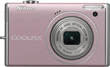 Nikon Coolpix S640 12.2MP Digital Camera with 5x Wide Angle Optical Vibration Reduction (VR) Zoom and 2.7-inch LCD (Precio...