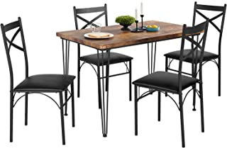 VECELO 5-Piece Dining Table Set for  Home Kitchen...
