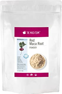Sponsored Ad - The Maca Team Gelatinized Red Maca Powder, 100% Organic, Fair Trade, GMO-Free Maca Powder, 2.2 Pounds, 111 ...