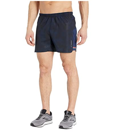 Brooks Sherpa 5 Shorts (Navy Haze) Men