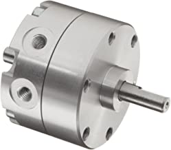 SMC CRB2BW20-90SZ Stainless Steel Vane Style Rotary Actuator, Single Vane, Compact, Basic Style Mounting, Not Switch Ready, Rubber Cushion, 6 mm Rod OD, M5 x 0.8, 90 Degrees Rotating Angle